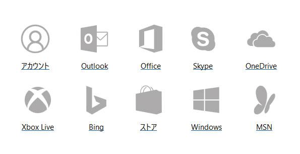 Windowsサービス一覧
